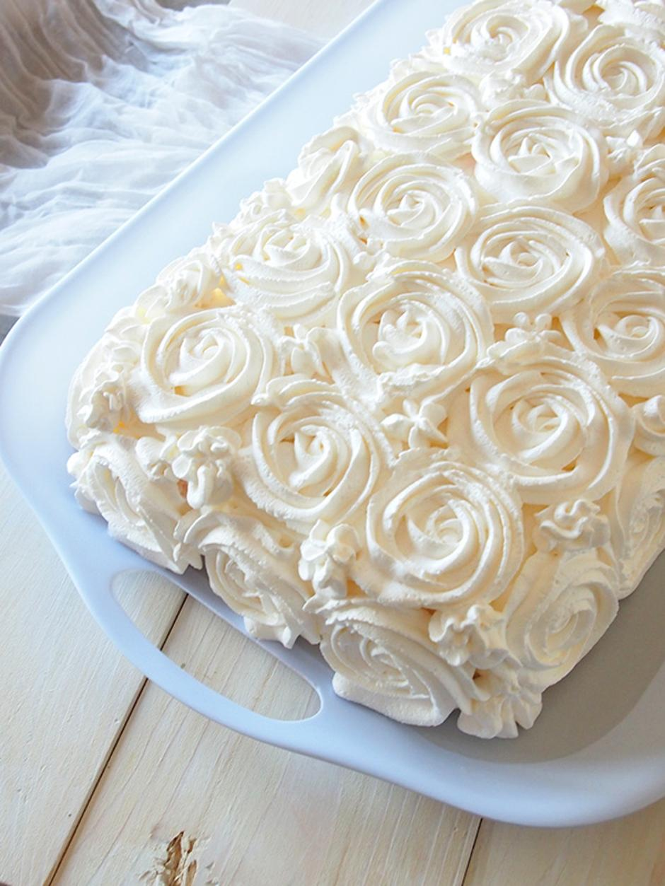 Ledena torta s jagodama | Author: Happiness is Homemade