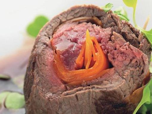 Biftek s mrkvom u istarskom teranu